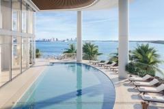Una Residences North Pool Deck